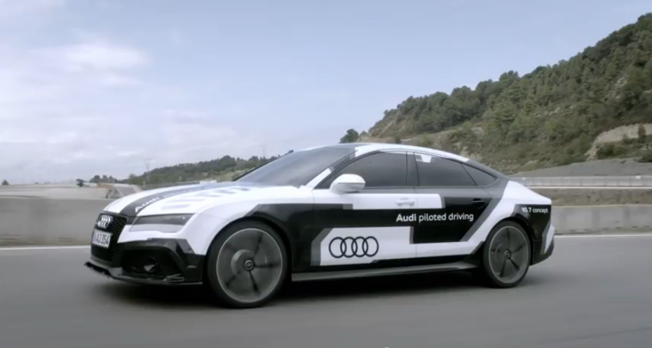 RS7 driverless